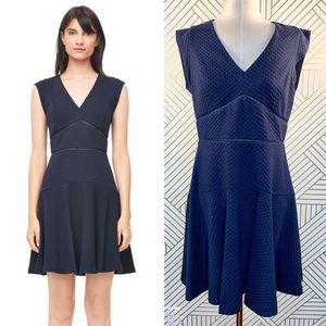 Rebecca Taylor Taylor Dress in Navy Blue